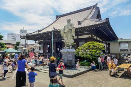 吉原寺音祭開催の妙祥寺