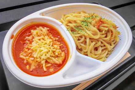 B-1グランプリ食堂の富士つけナポリタン イベントと変わらぬ味わいを楽しめる