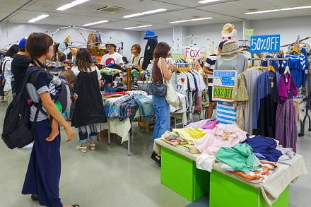 服fes開催の富士川楽座