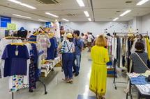 地元セレクトショップが集合して商品を販売