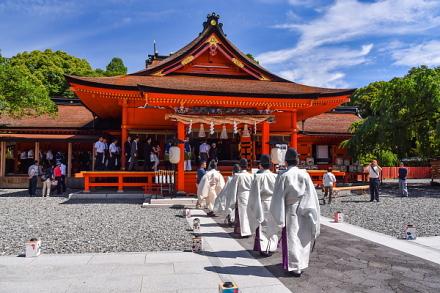 開山祭開催の富士山本宮浅間大社
