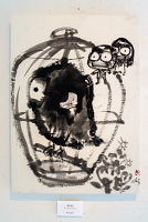 墨で描いた童話の世界