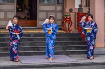 子供による舞踊