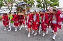 鈴川盛年会の神輿