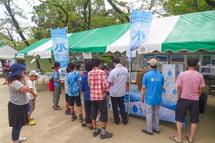 水に関連した企業の展示