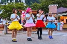 ご当地アイドル「Mi-II」ライブ