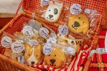 おさんぽ動物のアイシングクッキー
