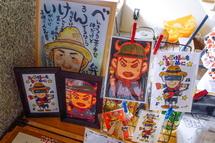 富士岳南地区非公認キャラ「弁慶」のグッズ販売