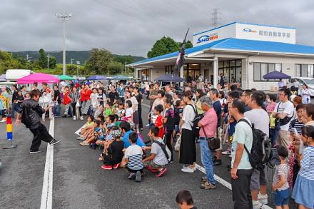 フェスタ開催の昭和自動車学校