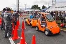 電気自動車体験乗車