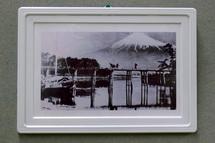 昔の風景写真の展示