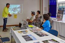 岩淵鳥居講の展示・解説