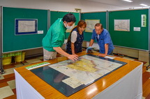 富士山東泉院の展示・解説