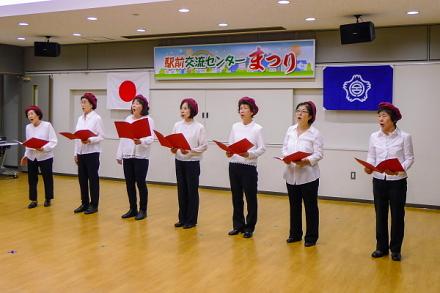 「きららまつり」会場の富士宮駅前交流センター