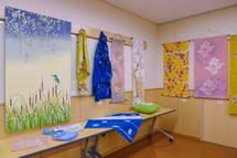 多彩な作品展示