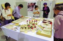 和紙製品の展示販売