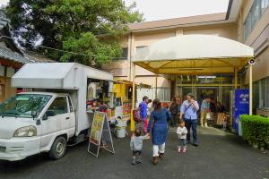 会場の米之宮浅間神社会館