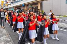 富士宮本町ハロウィンナイト風景