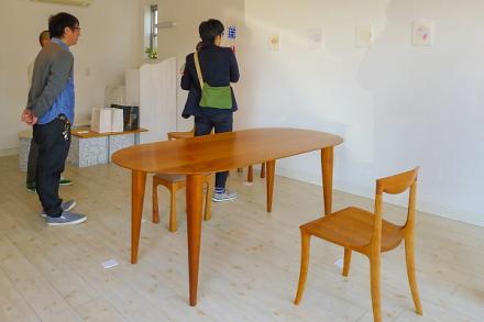木工家具展開催のRYU GALLERY