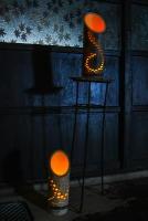 素敵な灯りの展示