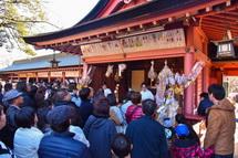 富士山本宮浅間大社の初詣風景