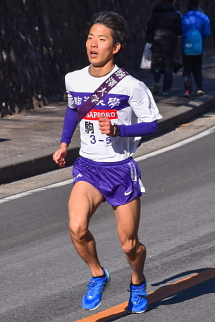 6番目に通過 駒澤大学
