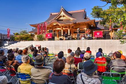 おやじバンドフェス開催の富知六所(三日市)浅間神社