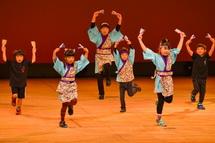 よさこい鈴川の演舞