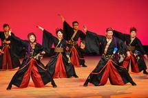 龍神華の演舞