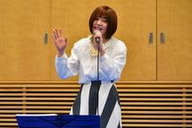 結花乃さんによるブランドメッセージソング「いただきへの、はじまり」初披露
