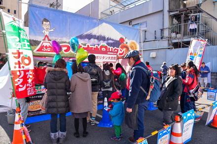 富士つけナポリタン大志館ブース
