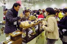 富士周辺のさまざまなパン屋さんが出店