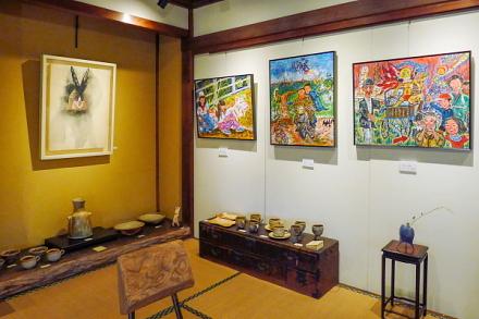 「富士宮在住の作家たち展 Part2」開催のspace Wazo