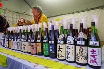 静岡の地酒コーナー