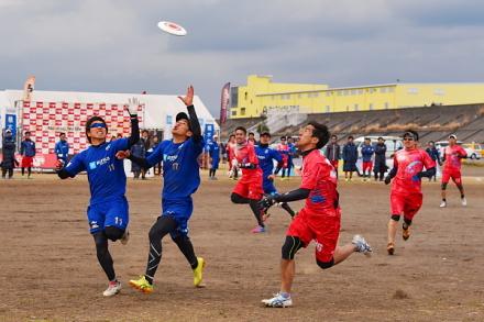 アルティメットドリームカップ開催の富士川緑地公園