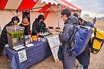 富士のお茶の出店