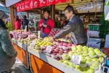 青森県の道の駅による物産展