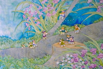 心癒される素敵な童画
