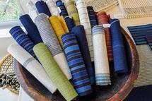 織物の展示作品