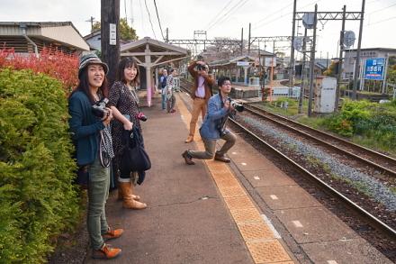四日市あすなろう鉄道を撮影
