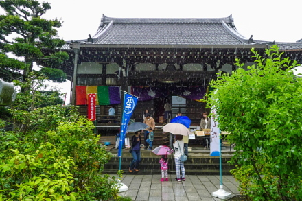 「お茶ばあさんのおまつり」開催の福寿院