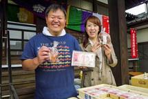 金沢豆腐店と今村さんちの香りしいたけの出店