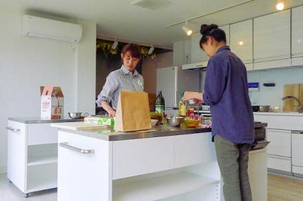野菜に合うディップソース作りのワークショップ