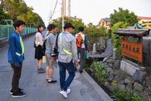 鮫島のビオトープに到着