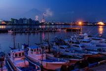 田子の浦漁港からの風景