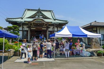 イベント開催の泰徳寺