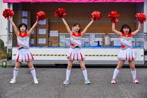 常葉大の学生によるダンス