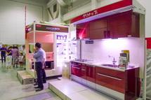 住宅設備機器の展示