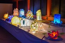 「富士の山かみ灯りコンテスト」展示作品