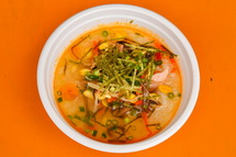 コメコメのビビンバ冷スープ御飯